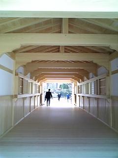 御廊下橋内部